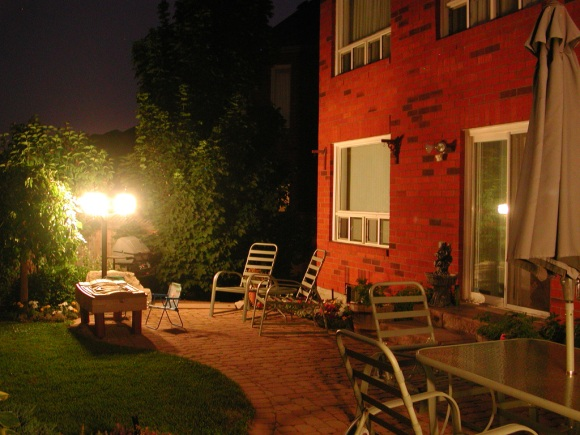 night gardening red house Five Reasons To Try Your Hand At Night Gardening
