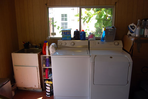 old washer dryer The Best Laundry Room Upgrades