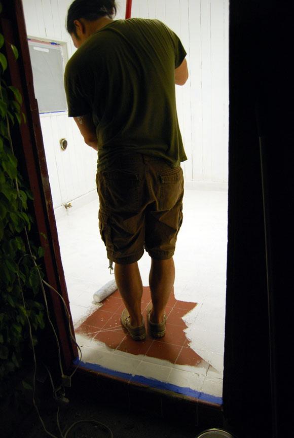 paint into corner floor The Best Laundry Room Upgrades
