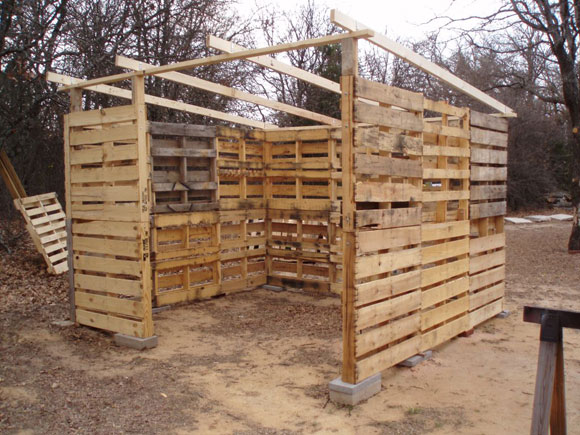 How to make a shed out of wooden pallets quick woodworking projects