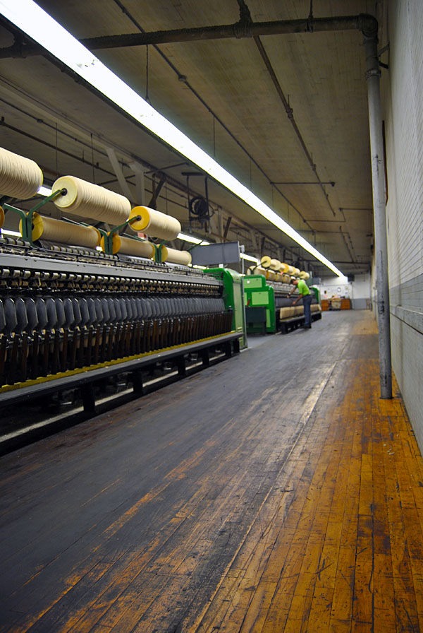 pendleton floor Pendleton Woolen Mills Factory Tour