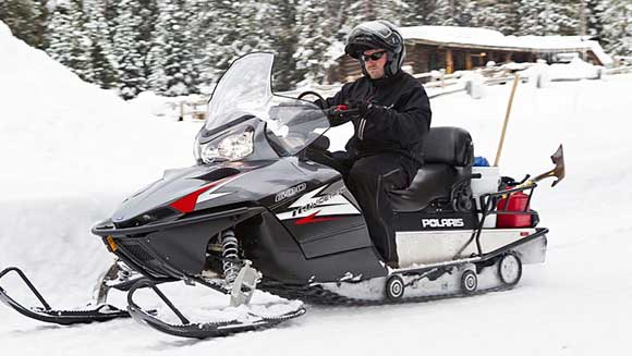 polaris utility snowmobile Polaris Utility Snowmobiles: Work Sleds That Are Fun