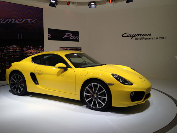 porsche cayman la autoshow LA Auto Show Kicks Into High Gear
