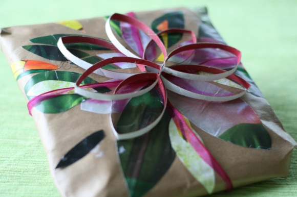 pretty wrapped present Give The Gift Of DIY