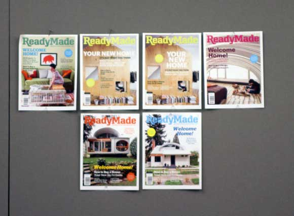 readymade magazine covers ReadyMade Magazine: Behind the Scenes