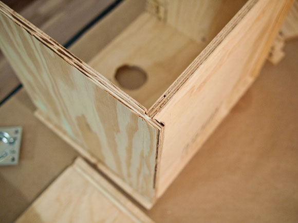 record crate joint How To Build Your Own Record Crates