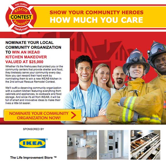 Nominate Your Local Community Organization for a $25,000 IKEA Rescue Remodel