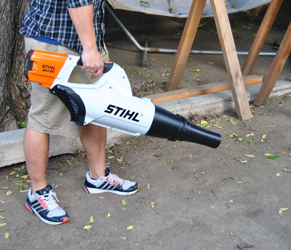 stihl electric blower STIHL BGA 85 Electric Blower is Storming the Industry