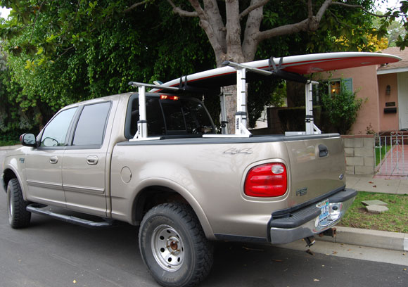 thule stand up paddleboard Thule XSporter Truck Rack Review