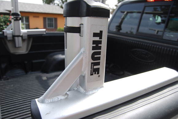 thule truck footing Thule XSporter Truck Rack Review