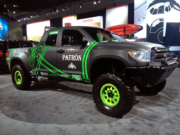 toyota tundra patron LA Auto Show Kicks Into High Gear