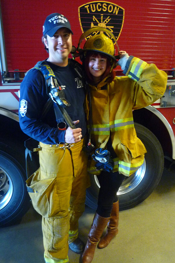 tucson fire fighter Nominate Your Local Firehouse to Win a Kitchen Remodel