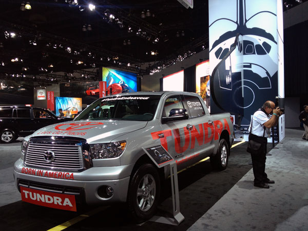 tundra endevour LA Auto Show Kicks Into High Gear