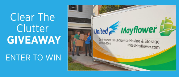 united mayflower container Clear the Clutter Giveaway: Free Container Storage