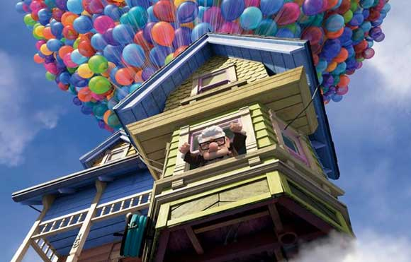 up house disney The Disney UP House Gets a Real World Treatment