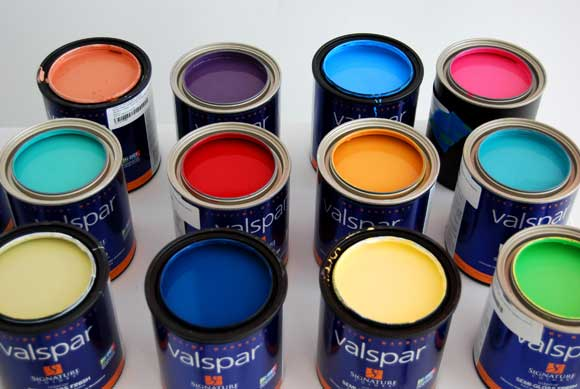 valspar paint lowes Nate Berkus Shows Us How to Mix It Up with Valspar Paint and Lowes