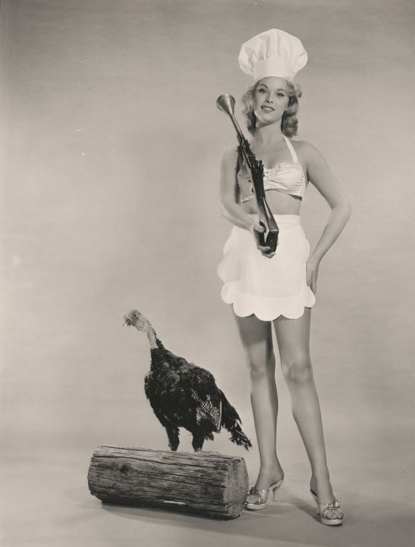 vintage thanksgiving pinup Happy Thanksgiving