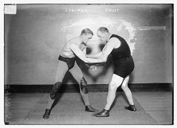 vintage wrestling Primer on Amateur Wrestling: From Lincoln to Sanderson