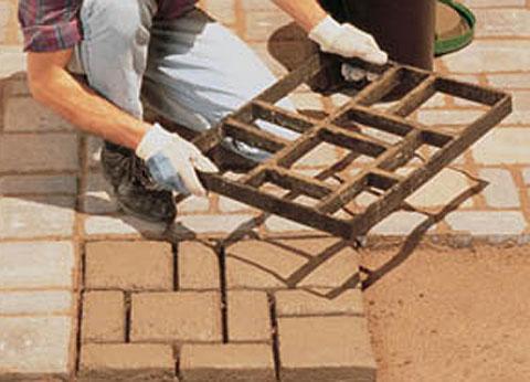 Своими руками сделать тротуарную плитку