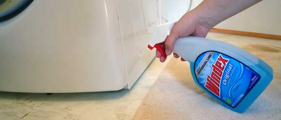 Slide Heavy Appliances with the Help of Windex