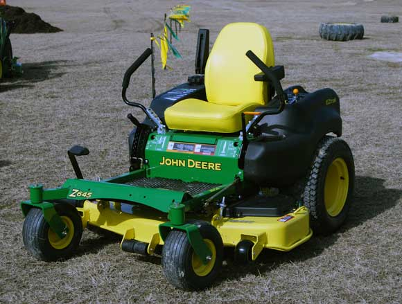 zero turn john deere mower How To Use a Zero Turn Mower