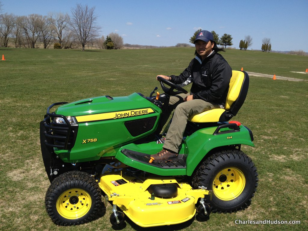 John Deere Riding Mower Tests
