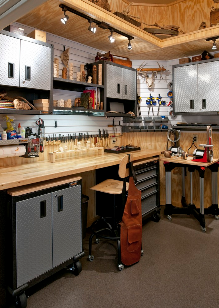seven bright lighting ideas electrician colorado springs workshop or woodshop lighting