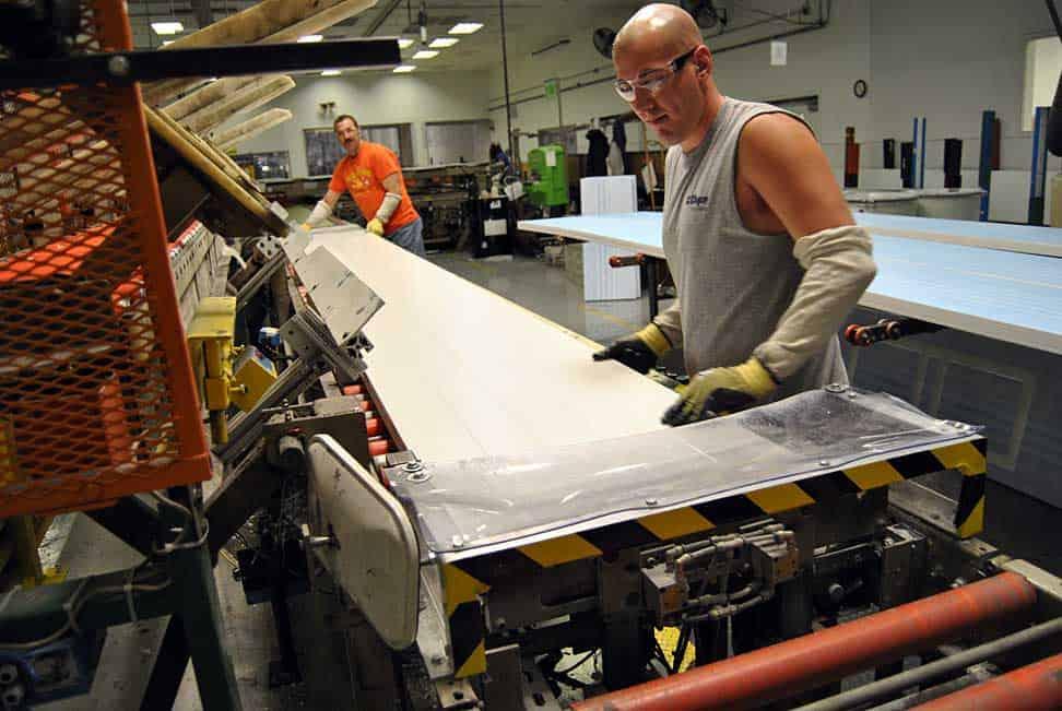 clopay garage doors factory tour
