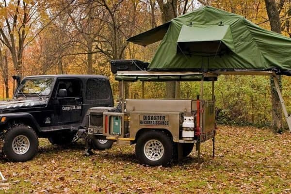 Car Camping with an ARB Rooftop Tent