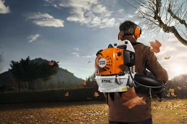 Step Up to a STIHL BR200 Backpack Blower