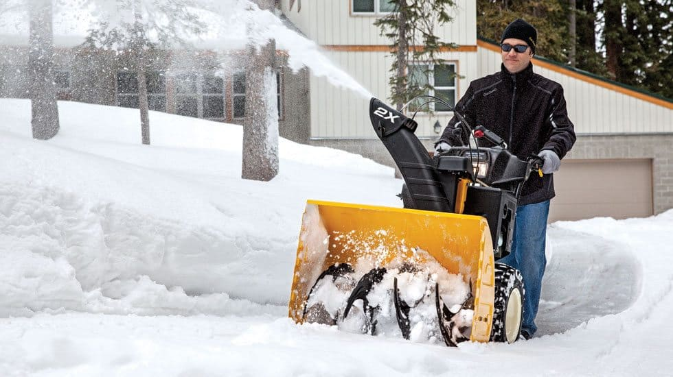 cub cadet two stage snow thrower
