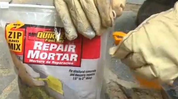 Zip & Mix Instant Mortar Repair from QUIKRETE
