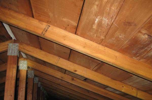 creaking roof