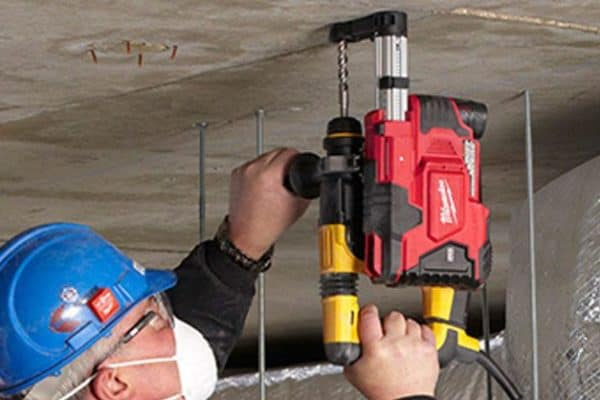 Breathe Easy with the Hammervac Dust Extractor from Milwaukee Tool