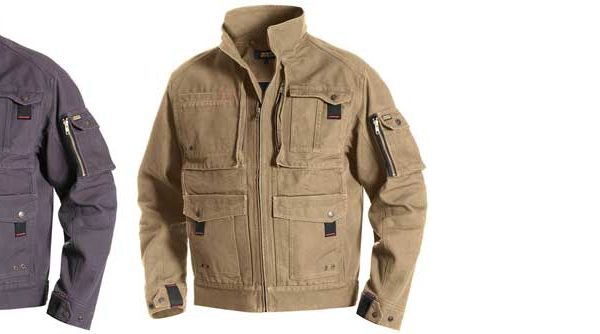 Blaklader Brawny Canvas Jacket Boasts Almost Endless Pockets