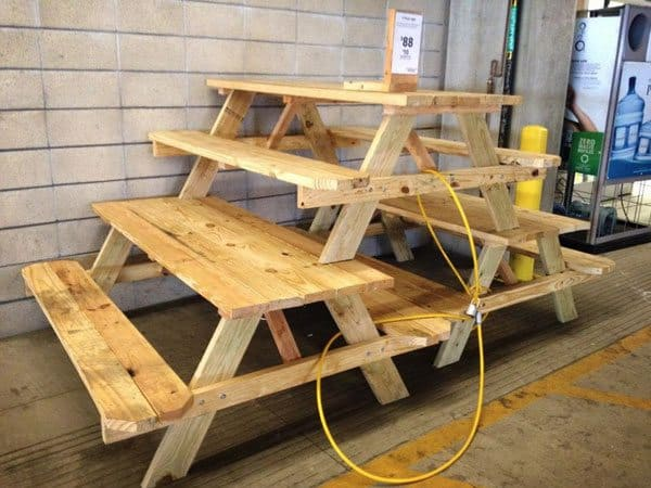 build or buy picnic table - Wood Picnic Table