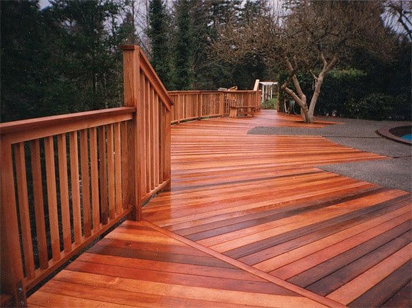 Choosing the right wood for your fence or deck for What is the best wood for decking