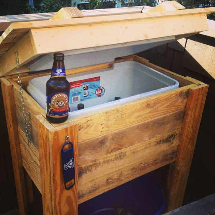 Pallet cooler stand How To Build a