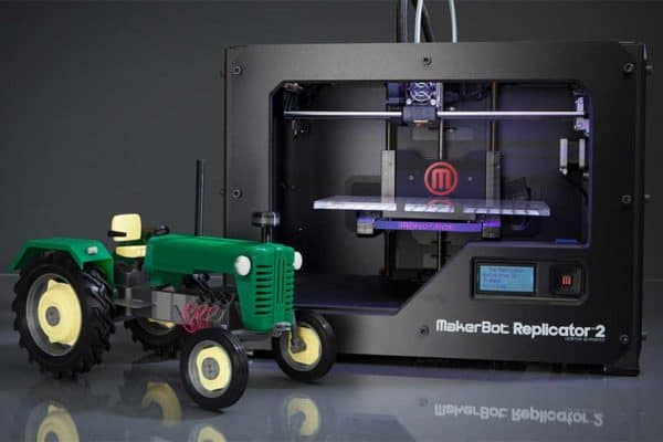 At Home 3D Printing with Makerbot
