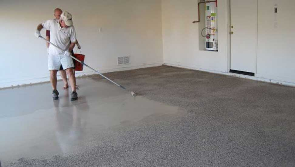 How To Apply An Epoxy Garage Floor Coating