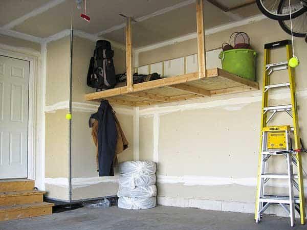 Ram cave garage design ideas for Elevated garage storage