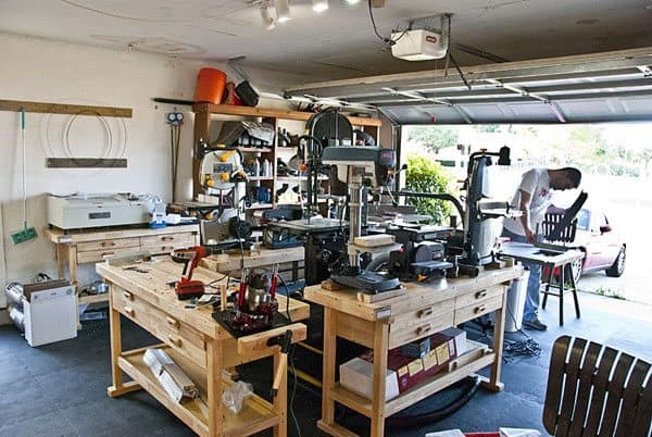 How to transform your garage into the ultimate home workshop for One car garage woodshop