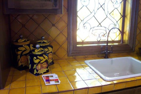 Charmant Tile Pros: Resists Stains. Stands Up To Heat And Sharp Blades. Tiles Can Be  Replaced Fairly Easily If They Break. Cons: Uneven Surface Makes It  Difficult To ...