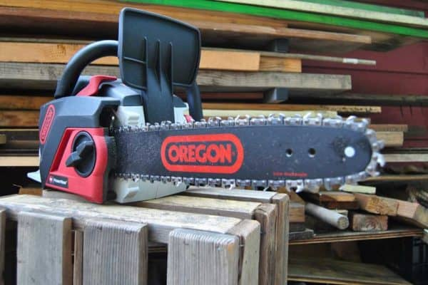 Oregon Cordless Chainsaw & New Trimmer/Edger
