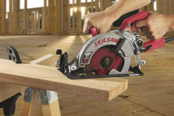 SKILSAW Giveaway: New Lightweight Magnesium Worm-Drive Saw