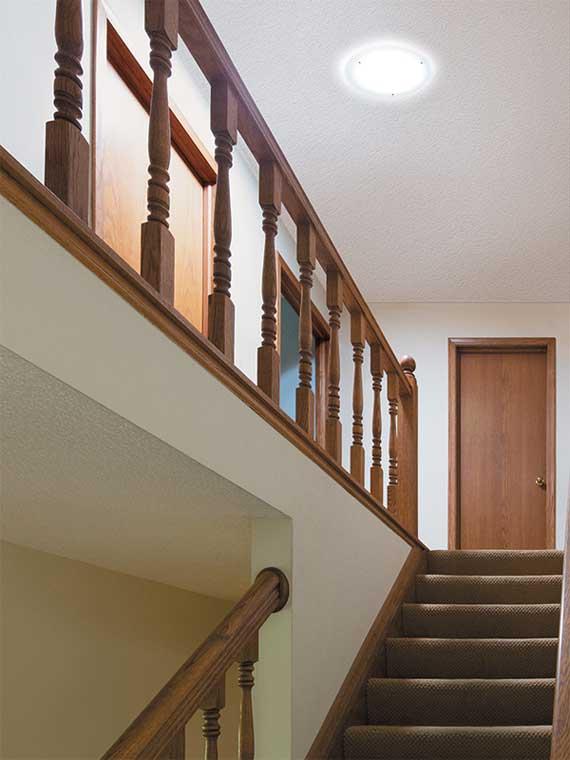 solatube-stairwell