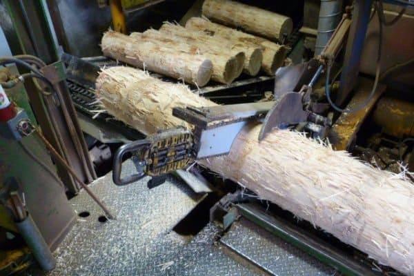 WoodMill Bolt Cutting Process