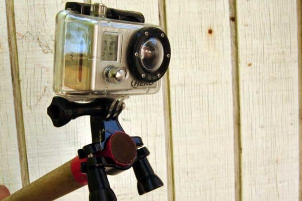 Do-It-Yourself GoPro Pole Mount