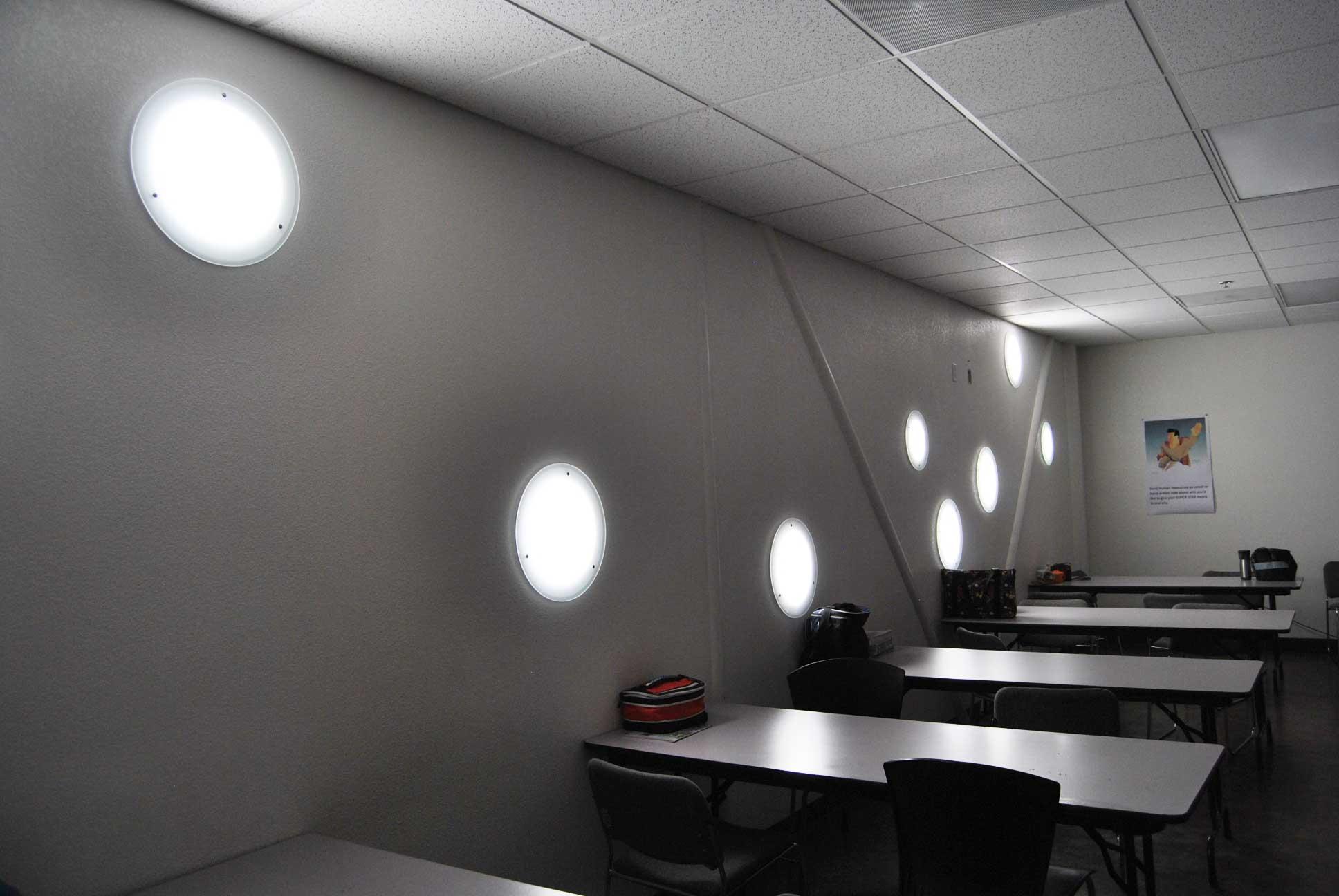 solatube vertical wall lighting