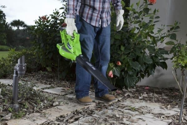 Take Charge this Fall with GreenWorks Blower/Vac plus Fall Tool Giveaway